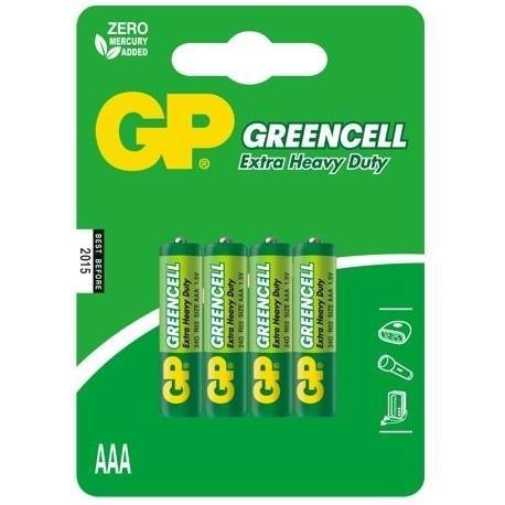 968eb87ae4d4f Bateria AAA R03 1,5V GP Greencell Extra Heavy Duty