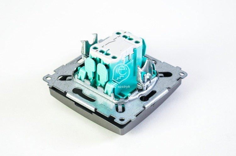 0feacd6612740 Łącznik jednobiegunowy (moduł) zaciski śrubowe