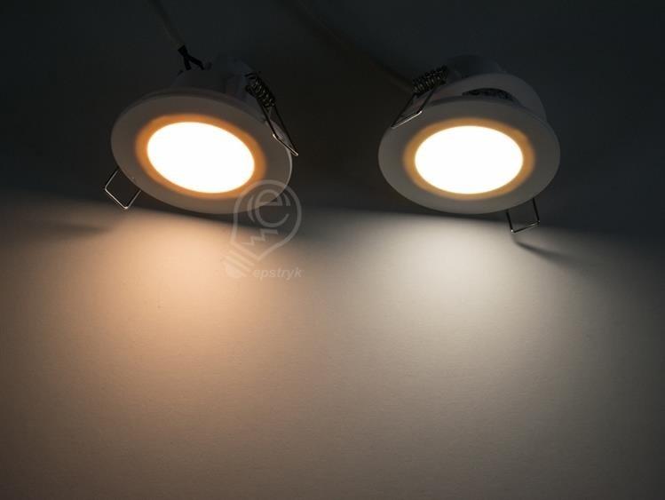 Lampa Oczko Wpuszczane Hermetyczne Do łazienki Ip65 Led 5w Greenlux Bono Neutralna 4000k