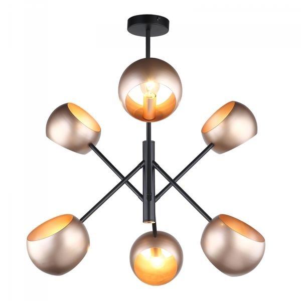 Inne rodzaje Lampa sufitowa żyrandol 6 źródeł ekstrawagancki nowoczesny kosmos NC62
