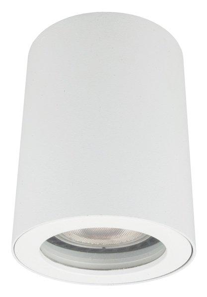 Lampa Tubka Do łazienki Hermetyczna Faro Biała Ip65