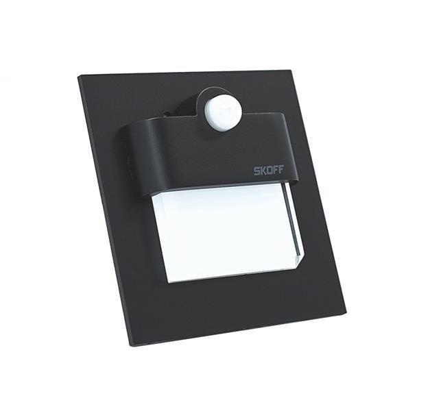 Oprawa Tango Led Pir 120 Z Czujnikiem Ruchu 6000k Czarny 230v Ac Motion Sensor Light Skoff Mm Tan D W