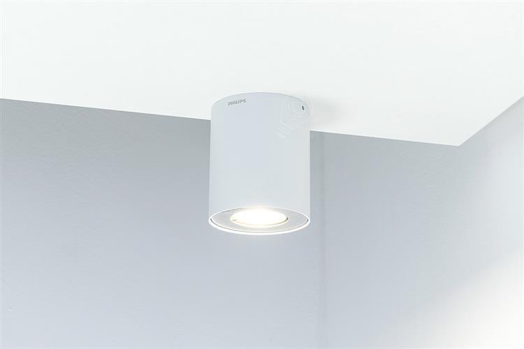 białe lampy sufitowe philips